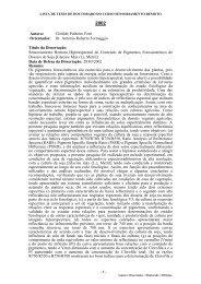 Autora: Clotilde Pinheiro Ferri Orientador: Dr. Antonio Roberto ... - OBT