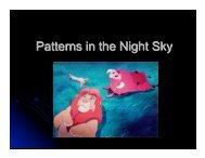 Unit 05 (Patterns of the Night Sky)