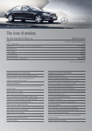Download S 300 L price list for Sabah - Mercedes-Benz Malaysia