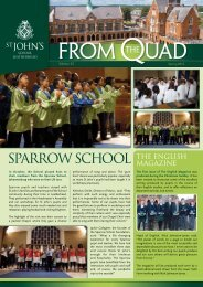 Sparrow SChool THE ENGLISH - St John's