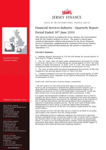 Quarterly Report June 2010.pdf - Jersey Finance