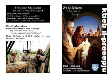 KTIEB IL-PRESEPJU BIT-TWEGIBIET.pub - Ghajnsielem.com