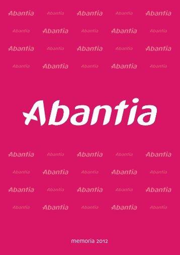 memoria 2012 - Abantia