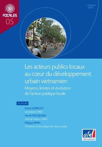 Focales n°5 - Agence Française de Développement