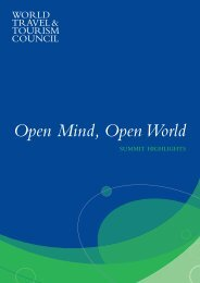 Open World - Post Summit Report - Global Travel & Tourism Summit