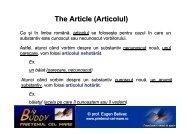 The Article (Articolul) - PRIETENUL cel Mare – Big BUDDY