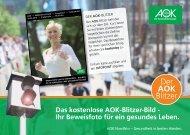 Der AOK Blitzer - Firmenlauf Norderstedt
