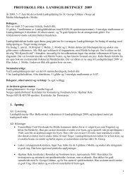 Tingpapirene til LGL, møteledere og sekretærer - St. Georgs Gildene ...