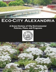 Eco-City Alexandria - City of Alexandria