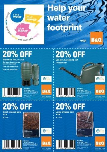 20% OFF 20% OFF 20% OFF 20% OFF Help ... - Your Water Meter