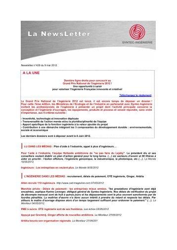 Missions d'ingénierie, responsabilités et ... - Syntec ingenierie