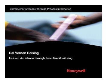 Incident Avoidance Through Advanced Monitoring - ASM Consortium