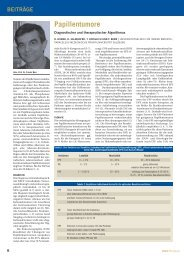 Papillentumore - Diagnostischer und therapeutischer ... - Salk