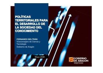 generación de conocimiento - Universidad de Zaragoza