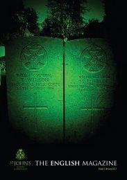 the english magazine - St John's