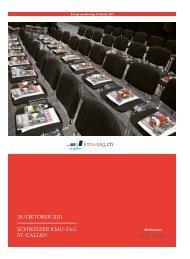 SCHWEIZER KMU-TAG ST. GAllEn 28 / OKTOBER 2011