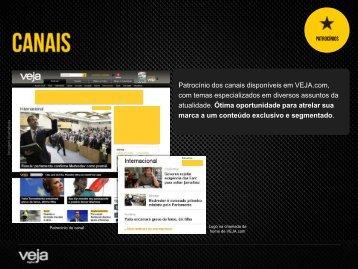 canais - Veja