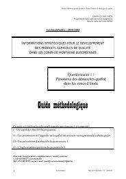 Guide méthodologique - Euromontana