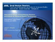 International Scope of SMRs and Outlook for Advanced ... - UxC