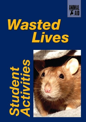 Download Wasted Lives Student Activities booklet - Animal Aid