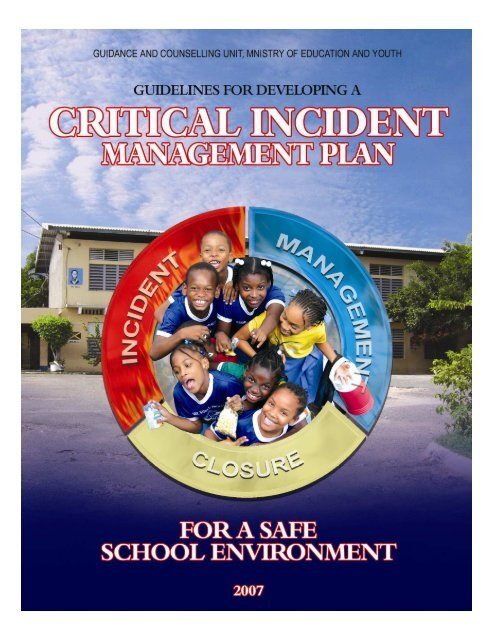 Critical Incident Manual - Ministry of Education