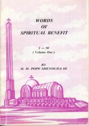 words of spiritual benefit vol. i - Church of the Virgin Mary and St ...