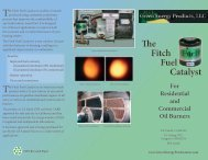 The Fitch Fuel Catalyst - Green Energy Products, Inc.