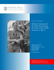 Midwest Evaluation of the Adult Functioning of Former Foster Youth ...