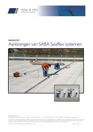 Aanbrengen SABA Sealflex MBT