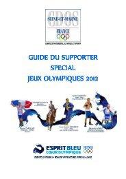 le guide complet des jeux olympiques 2012 a londres - CDOS 77
