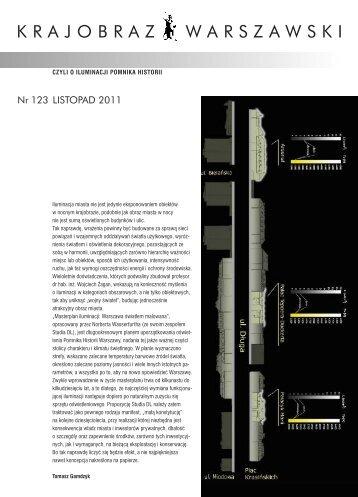 Nr 123 LISTOPAD 2011 - Architektura i planowanie przestrzenne