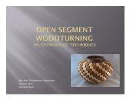 Presentation on Open Segment Construction Part 1 of 3