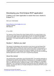 Developing your first Eclipse RCP application - FTP Directory Listing ...