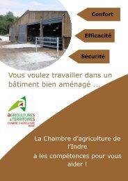 Conseil en bâtiment d'élevage - Chambre d'agriculture de l'Indre