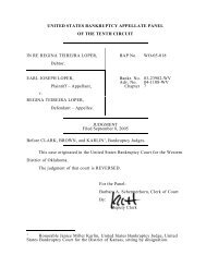 BAP WO-05-018 Loper v. Loper - US Bankruptcy Court