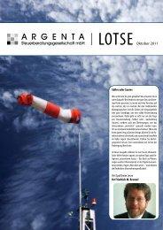 Lotse vom Oktober 2011 - argenta.info