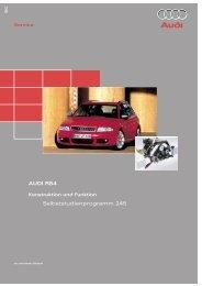 AUDI RS4 Selbststudienprogramm 245 245 - VolksPage.Net