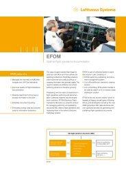 Optimal flight operations documentation