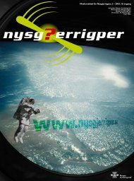 Medlemsblad for Nysgjerrigper, 2 – 2003. 10. årgang