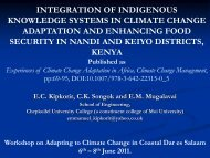 Kipkorir, E., Integration of Indigenous Knowledge Systems in ...