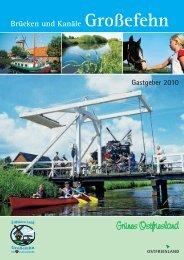 Brücken und Kanäle Großefehn - Van Dörp to Dörp
