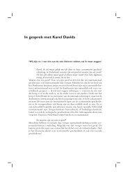 In gesprek met Karel Davids
