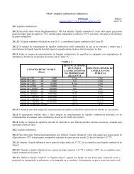 NR 20 - Líquidos combustíveis e inflamáveis Publicação D.O.U. ...