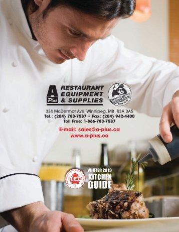 KITCHEN - A Plus Restaurant Equipment and Supplies