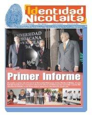 Al cumplir su primer año al frente de la Universidad Michoacana de ...