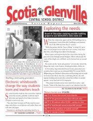 Winter 2007-08 - Scotia-Glenville Central School District