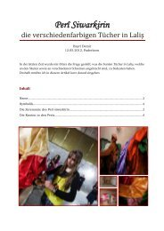 2. Perî Siwarkirin - die verschiedenfarbigen Tücher in Lalish [DE]