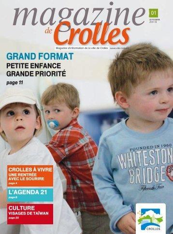Grand format : Petite enfance, grande priorité - ville de Crolles