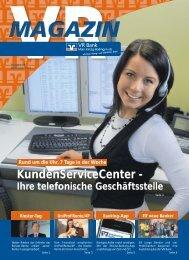KundenServiceCenter - VR Bank Main-Kinzig-Büdingen eG