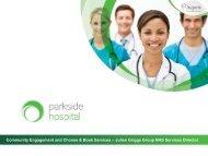 Mr Julian Griggs - Parkside Hospital